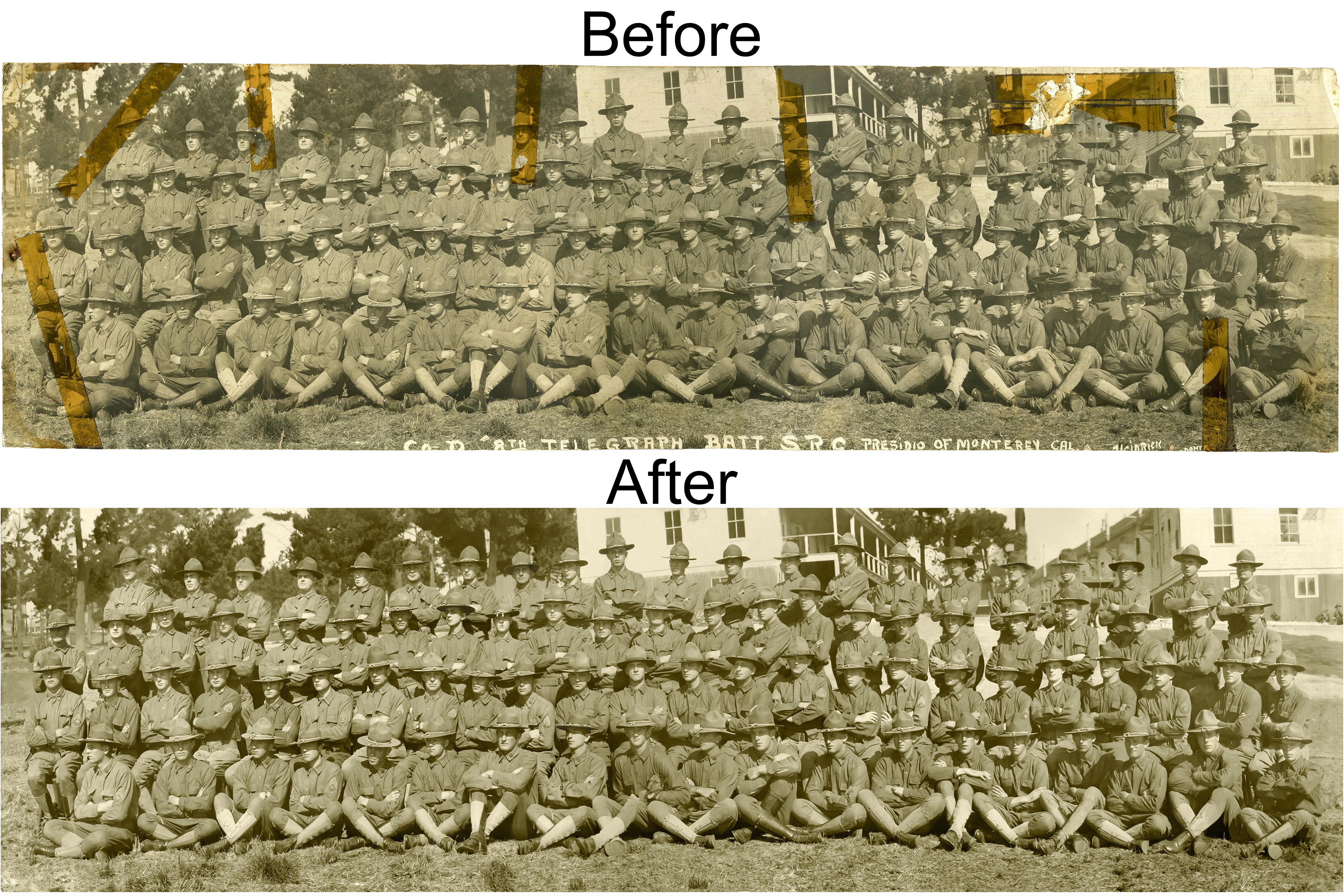Bevan Restoration Before & After